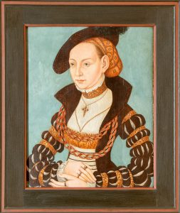 Lucas Cranach- Kopie Chr. Goller